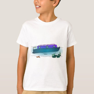 Camiseta Narrowboat afundado