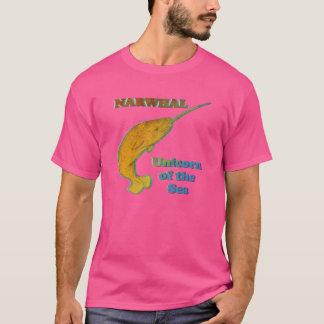 Camiseta Narwhal - unicórnio do mar