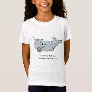 Camiseta Narwhals é os unicórnios do tshirt do mar
