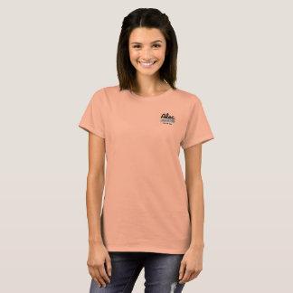 Camiseta Nas mulheres dos salmões da elevação