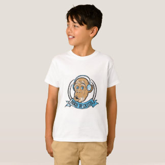 Camiseta Nascer a escutar - gráfico T da juventude