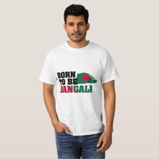 Camiseta Nascer a ser Bangali