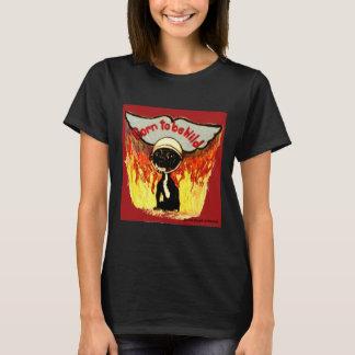 Camiseta Nascer a ser chihuahua selvagem