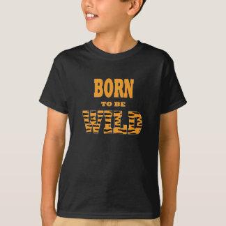 Camiseta Nascer a ser selvagem