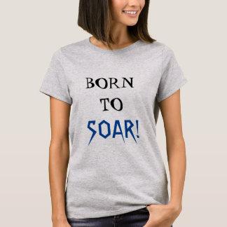 Camiseta NASCER A SUBIR citações inspiradas legal