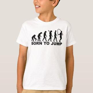 Camiseta Nascer da evolução à corda de salto