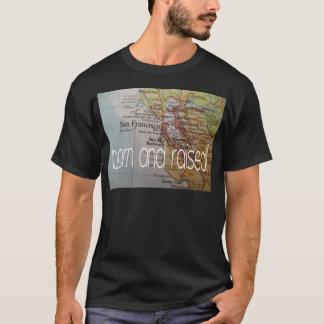 Camiseta nascer de San Francisco e aumentado