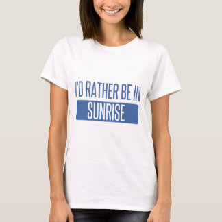 Camiseta Nascer do sol