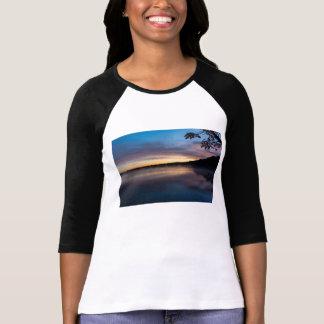Camiseta Nascer do sol do outono de Springfield do lago