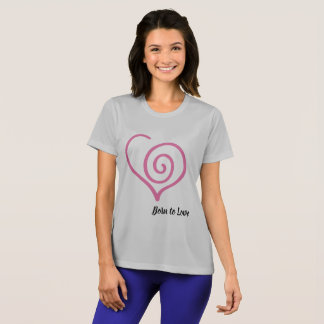 Camiseta Nascer para amar o t-shirt gráfico