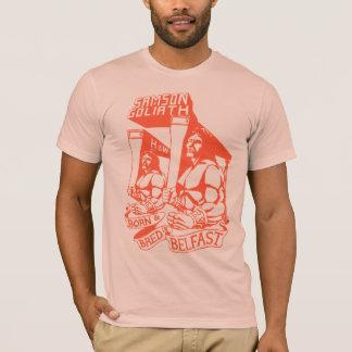 Camiseta Nascido & produzido em Belfast