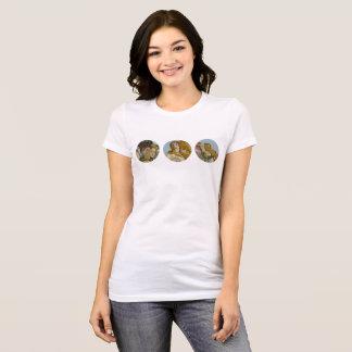 Camiseta Nascimento do t-shirt das mulheres de Venus