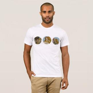 Camiseta Nascimento do t-shirt dos homens de Venus