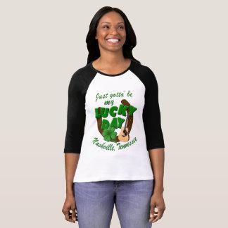 Camiseta Nashville apenas obtido ' seja meu t-shirt