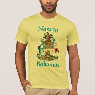 Camiseta Nassau, Bahamas com brasão