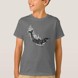 Camiseta Natação do golfinho