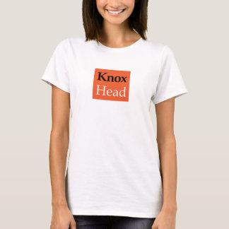 Camiseta Natação sincronizada do T-SHIRT - cabeça de Knox