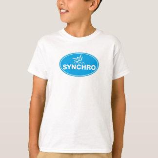 Camiseta Natação sincronizada do T-SHIRT do MIÚDO - ícone