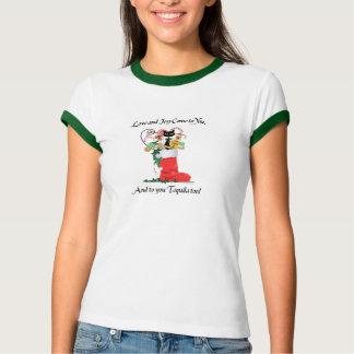 Camiseta Natal '12 de KatONineTales do amor & da alegria &