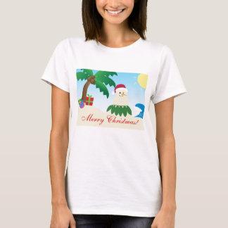 Camiseta Natal alegre de Havaí! (Mele Kalikimaka!)