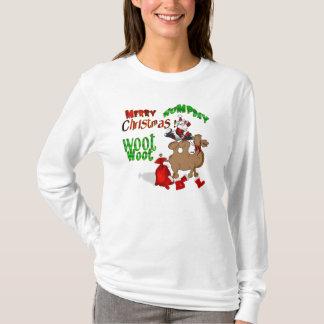 Camiseta Natal alegre do dia de corcunda
