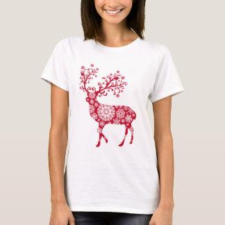 Camiseta Natal da rena
