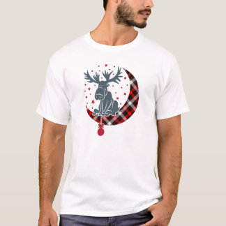 Camiseta Natal de espera de Rudolph