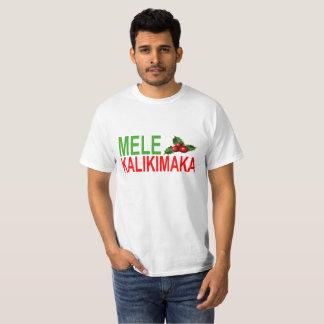 CAMISETA NATAL DE MELE KALIKIMAKA.