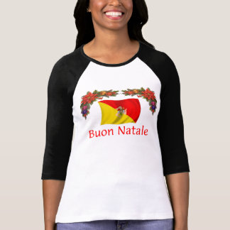 Camiseta Natal de Sicília