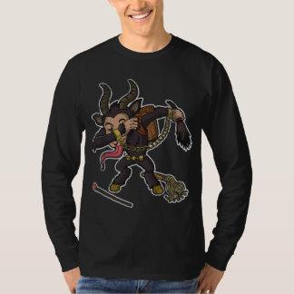 Camiseta Natal de toque ligeiro de Krampus