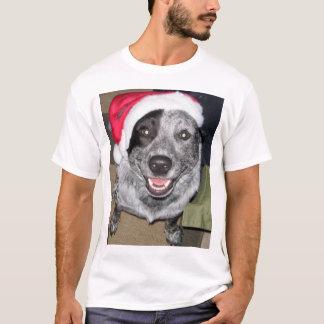 Camiseta Natal do cão do gado