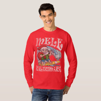 Camiseta Natal do Hawaiian de Mele Kalikimaka