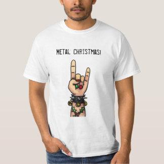 Camiseta Natal do metal