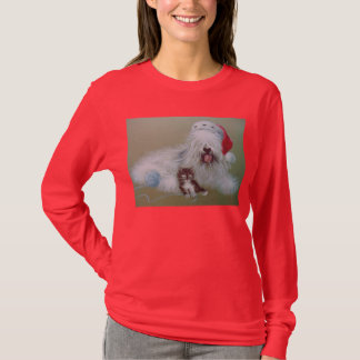 Camiseta Natal do Sheepdog