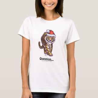 Camiseta Natal do tigre