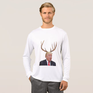 Camiseta Natal do trunfo: Sr. presidente dos cervos