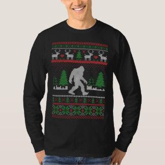 Camiseta Natal feio de Sasquatch