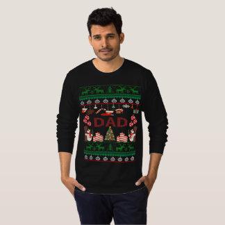 Camiseta Natal feio do pai