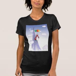 Camiseta Natal feliz de ShardArt por Tony Fernandes