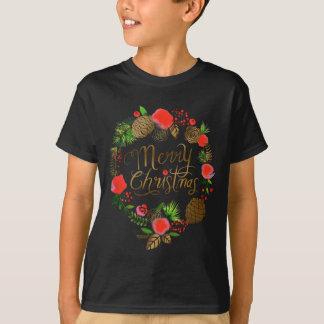 Camiseta Natal, feriados, decorações, celebração