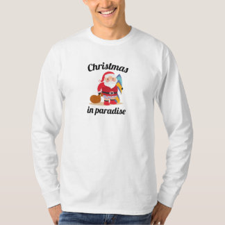 Camiseta Natal no paraíso