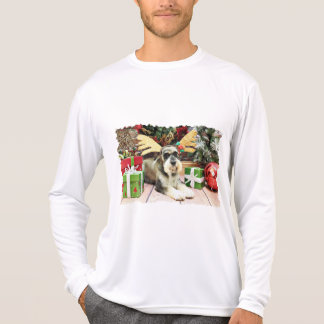 Camiseta Natal - Schnauzer - Apache