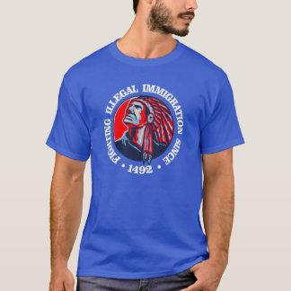 Camiseta Nativo americano (imigração ilegal)
