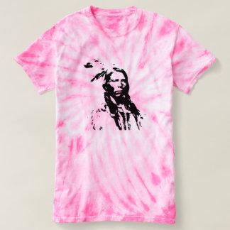 Camiseta Nativo americano louco do cavalo