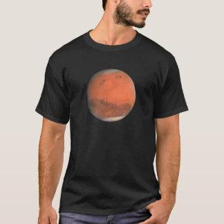 Camiseta ~~ natural da cor verdadeira de MARTE do PLANETA