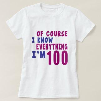 Camiseta Naturalmente eu sei que tudo eu sou 100