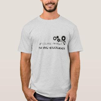 Camiseta Naturalmente eu sou direito, mim sou um t-shirt do