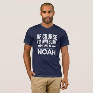 Camiseta Naturalmente eu sou impressionante mim sou um Noah