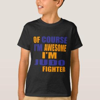 Camiseta Naturalmente eu sou lutador do judo