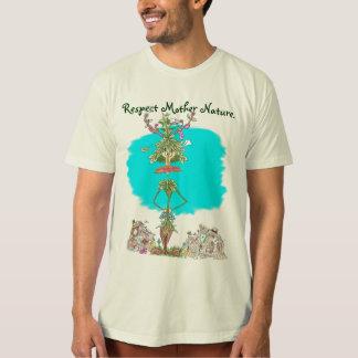 Camiseta Natureza de mãe do respeito